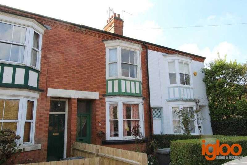 3 Bedrooms Terraced House for sale in South Knighton Road, Leicester
