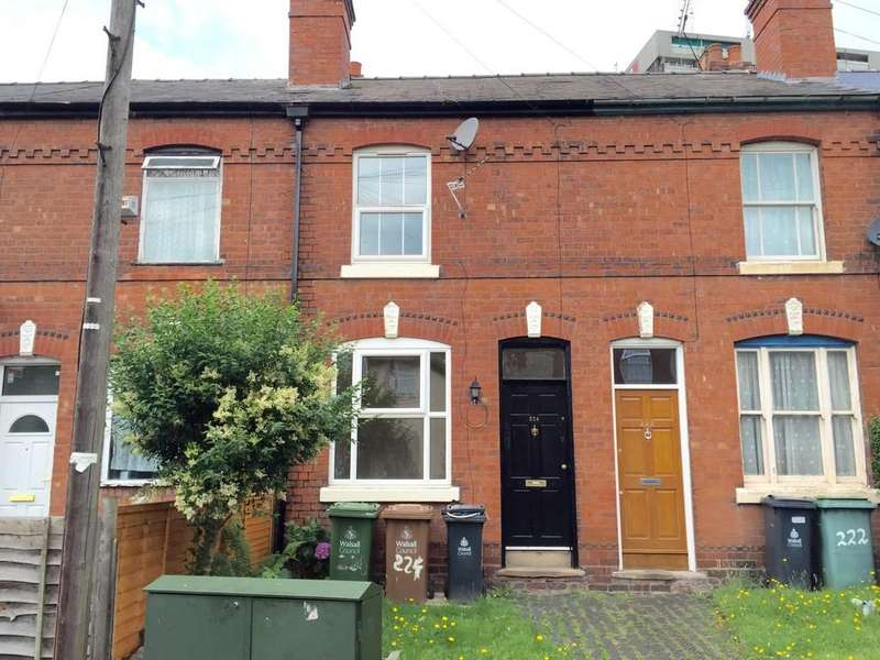 2 Bedrooms Terraced House for rent in Sandwell Street, Walsall