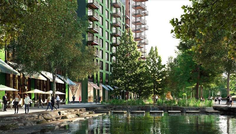 3 Bedrooms Flat for sale in Embassy Gardens, Ponton Road, Nine Elms, Vauxhall, London, SW8