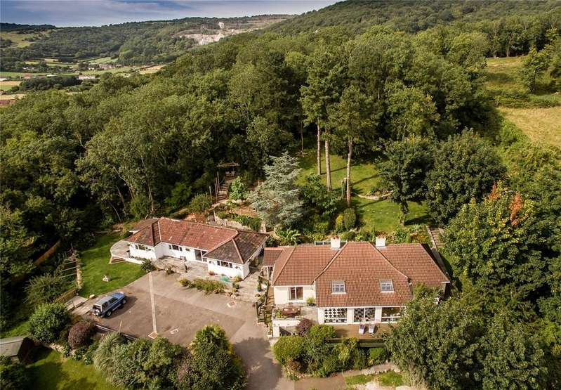 6 Bedrooms Detached Bungalow for sale in The Clangers, Lynch Lane, Cheddar, Somerset, BS27