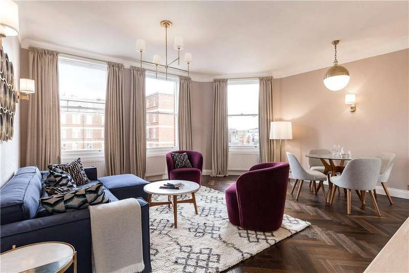 3 Bedrooms Flat for sale in Falkland House, Marloes Road, Kensington, London, W8