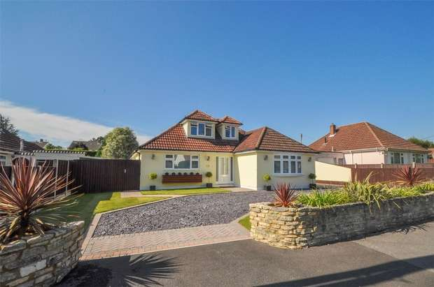 4 Bedrooms Chalet House for sale in Winnards Close, West Parley, FERNDOWN, Dorset