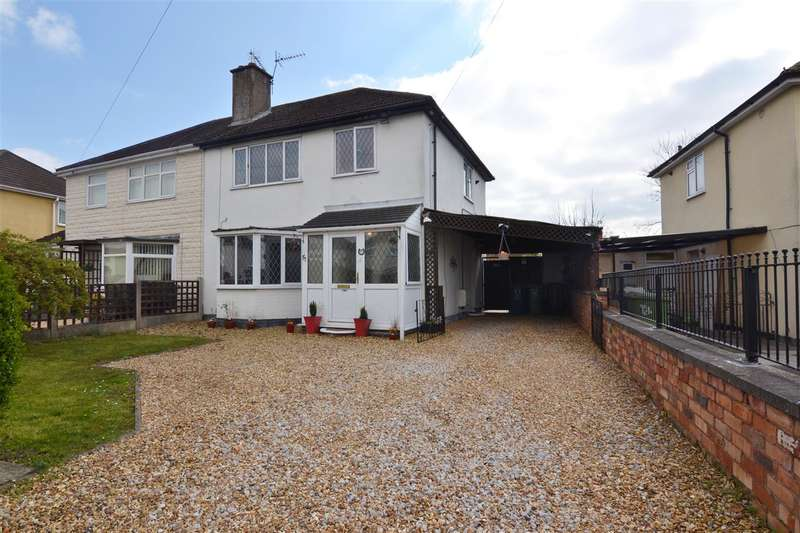 3 Bedrooms Semi Detached House for sale in Woodlands Road, Stafford
