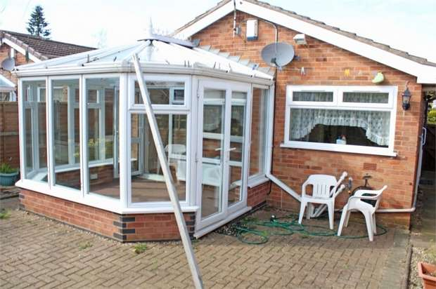 2 Bedrooms Detached Bungalow for sale in Azalea Close, Burbage, Hinckley, Leicestershire