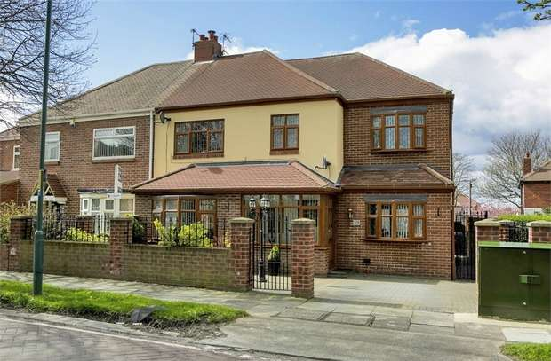 3 Bedrooms Semi Detached House for sale in West Avenue, South Shields, Tyne and Wear