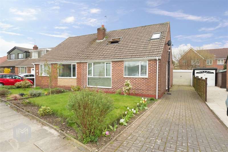 3 Bedrooms Semi Detached Bungalow for sale in Cornwall Drive, Bury, Lancashire