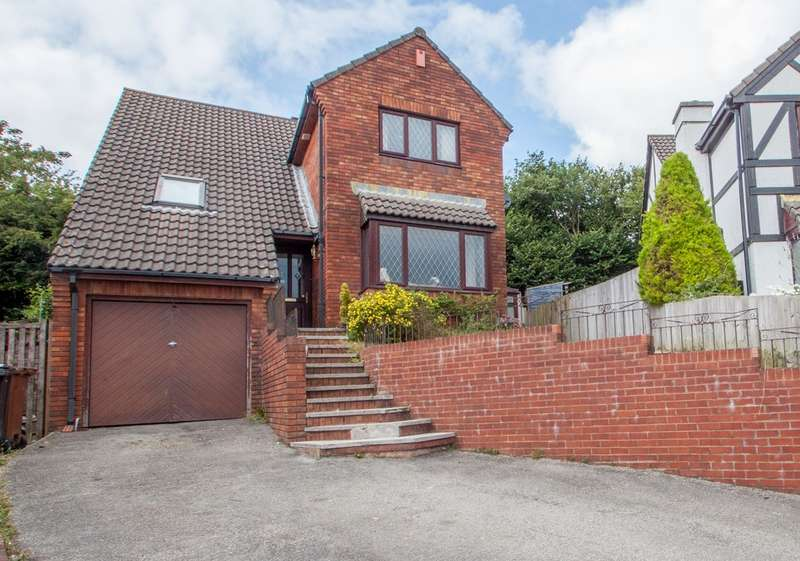 4 Bedrooms Detached House for sale in Woolwell, Plymouth