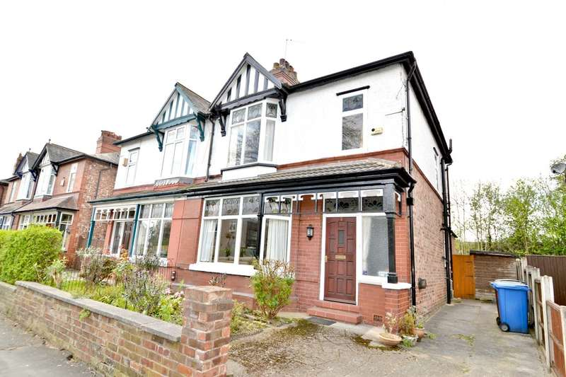 3 Bedrooms Semi Detached House for sale in Springfield Road, Gatley