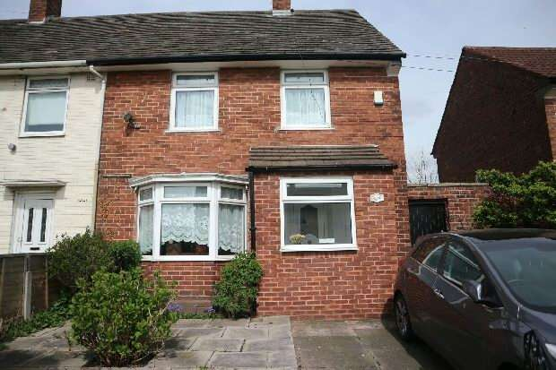 2 Bedrooms End Of Terrace House for sale in Damwood Road, Liverpool