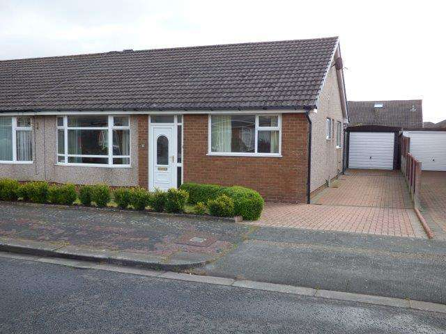 3 Bedrooms Semi Detached Bungalow for sale in Portland Drive, Westgate, Morecambe, LA3 3NB