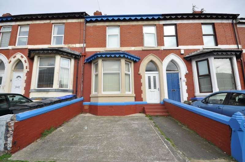 4 Bedrooms Terraced House for sale in Regent Road, Blackpool, Lancashire, FY1 4NB