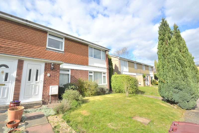 2 Bedrooms Maisonette Flat for sale in Luscombe Close, Reading