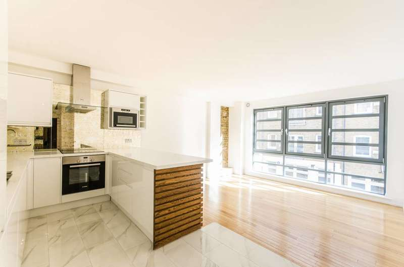2 Bedrooms Flat for sale in North Mews, Bloomsbury, WC1N