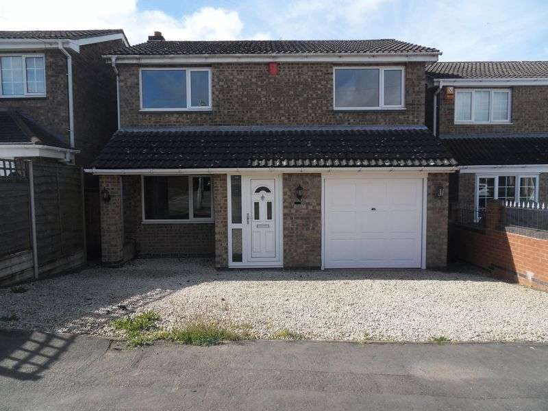 3 Bedrooms Detached House for sale in Romans Crescent, Coalville