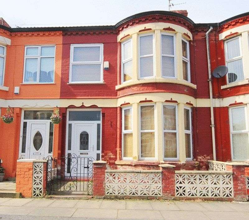 3 Bedrooms Terraced House for sale in Podium Road, Old Swan, Liverpool, L13