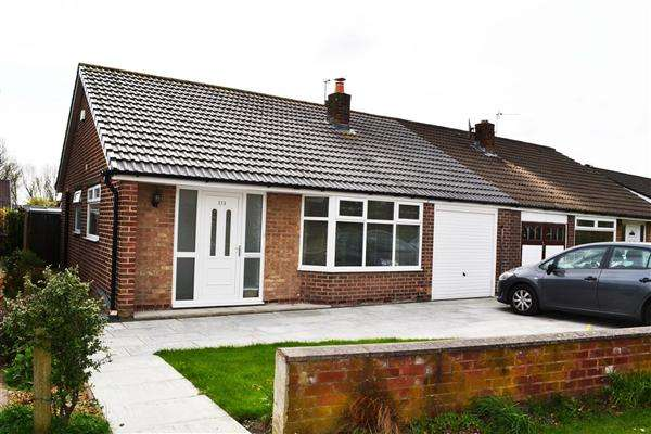 2 Bedrooms Semi Detached Bungalow for sale in Chestnut Drive South, Leigh