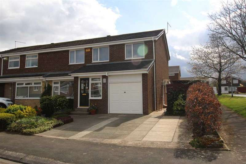 4 Bedrooms Semi Detached House for sale in Nairn Road, Parkside Chase, Cramlington