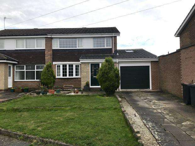 4 Bedrooms Semi Detached House for sale in PETERBOROUGH ROAD, NEWTON HALL, DURHAM CITY