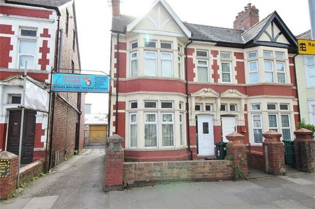 4 Bedrooms End Of Terrace House for sale in Corporation Road, NEWPORT
