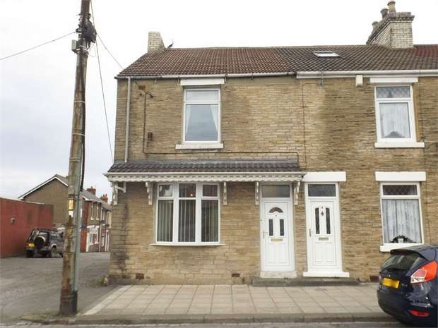 3 Bedrooms End Of Terrace House for sale in Church Street, Coundon, Bishop Auckland, Durham