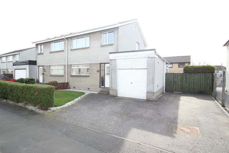 3 Bedrooms Semi Detached House for sale in Forbes Street, Alloa
