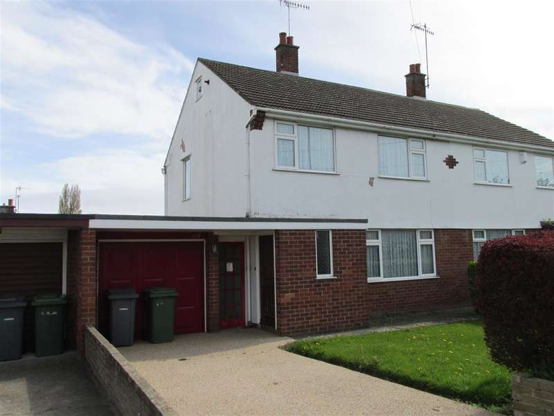 3 Bedrooms Semi Detached House for sale in Manor Drive, Upton