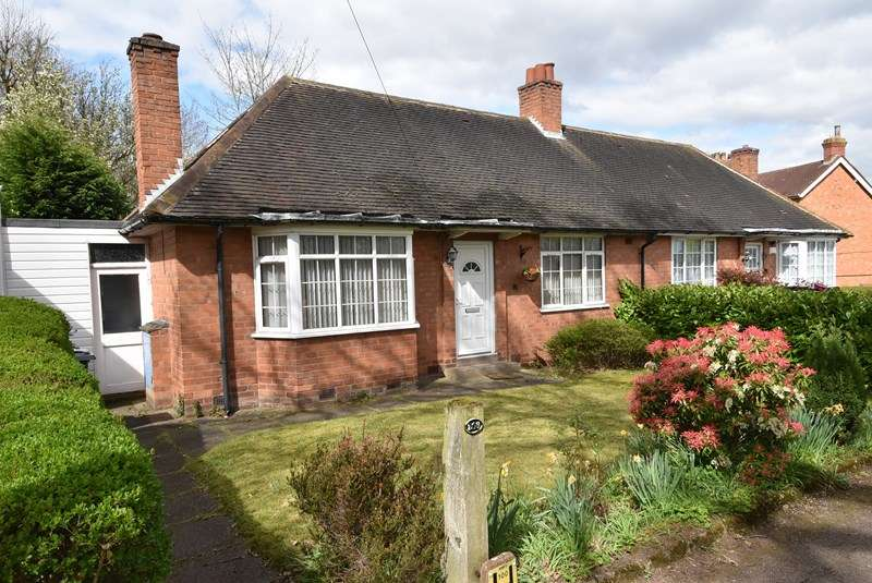 2 Bedrooms Semi Detached Bungalow for sale in Hay Green Lane, Bournville, Birmingham
