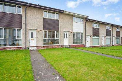 2 Bedrooms Terraced House for sale in Holmhills Drive, Cambuslang, Glasgow, South Lanarkshire