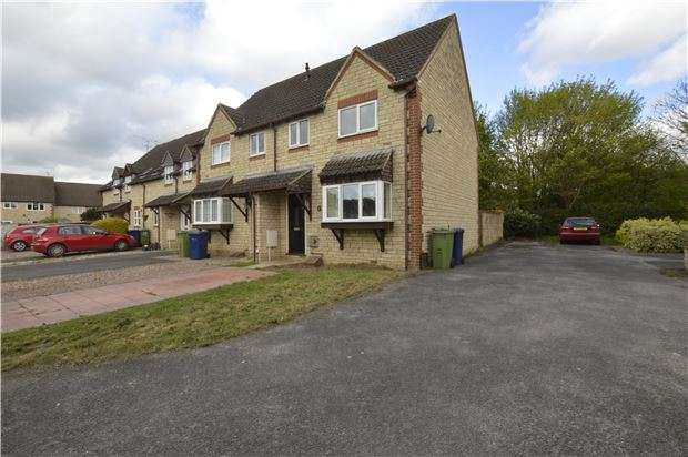 3 Bedrooms End Of Terrace House for sale in Cutsdean Close, Bishops Cleeve, CHELTENHAM, Gloucestershire, GL52 8UT