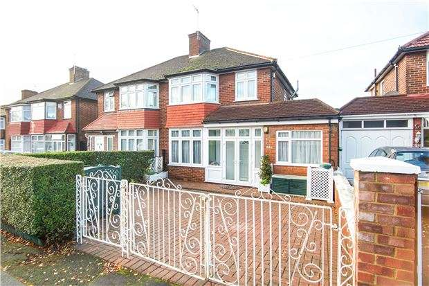 4 Bedrooms Semi Detached House for sale in Holyrood Gardens, EDGWARE, HA8 5LR