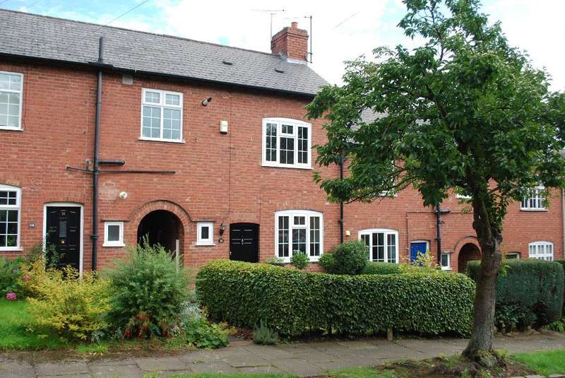 2 Bedrooms Terraced House for sale in North Pathway, Harborne, Birmingham, B17 9EJ