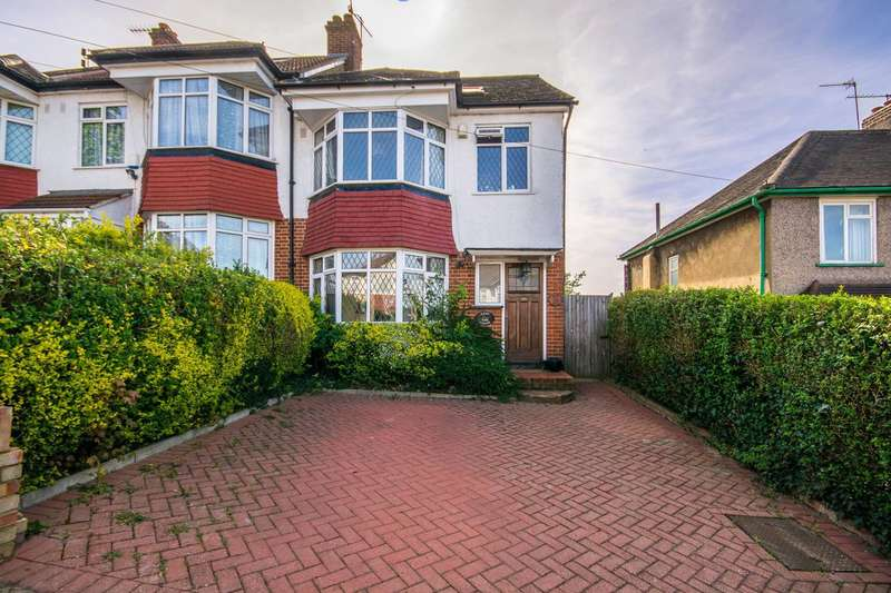 4 Bedrooms Semi Detached House for sale in Dibdin Road, Sutton Common, SM1
