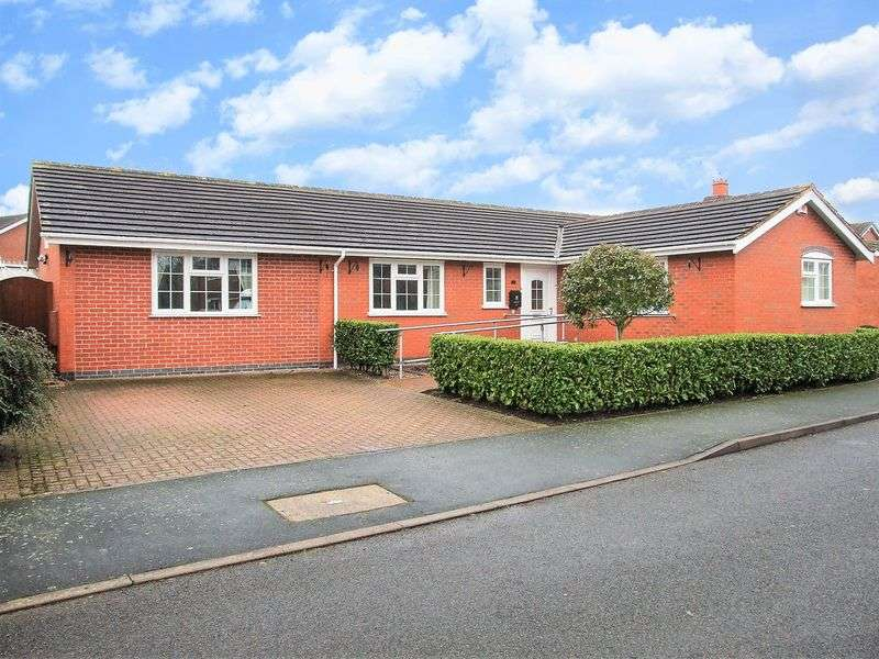 4 Bedrooms Detached Bungalow for sale in Lindisfarne Drive, Loughborough