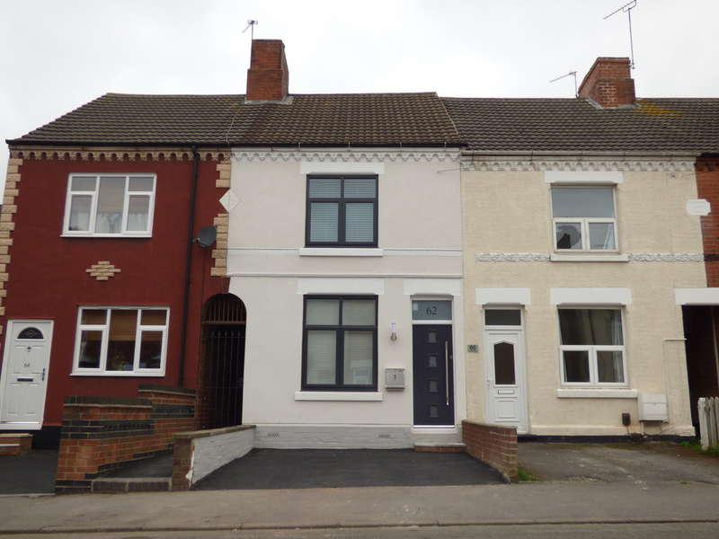 3 Bedrooms Terraced House for sale in Fairfield Road, Hugglescote