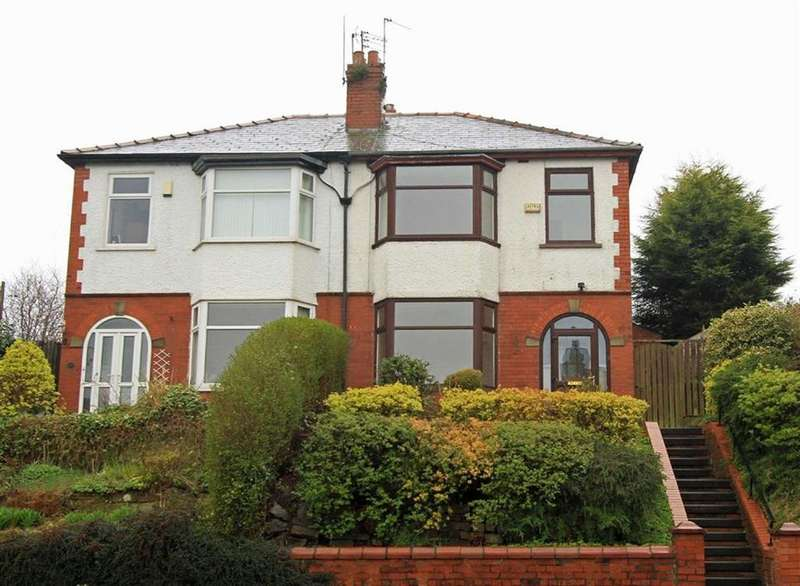 3 Bedrooms Semi Detached House for sale in 629, Whitworth Road, Lower Healey, Rochdale, OL12