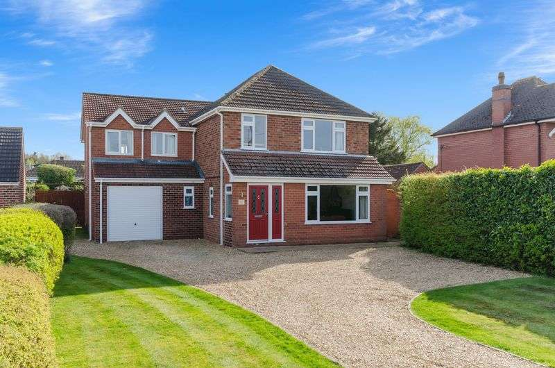 5 Bedrooms Detached House for sale in 34 Fen Road, Washingborough
