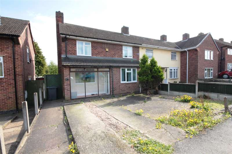 2 Bedrooms End Of Terrace House for sale in St Norbert Drive, Ilkeston