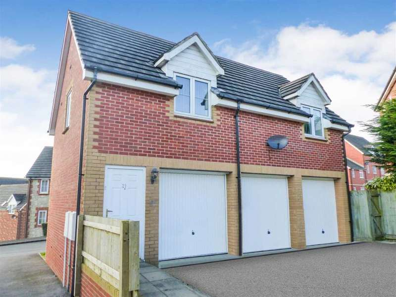 2 Bedrooms Apartment Flat for sale in Woolpitch Wood, Chepstow