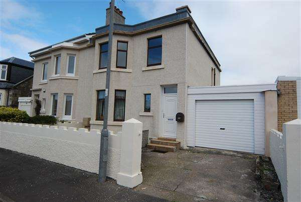 4 Bedrooms Semi Detached House for sale in Anderson Terrace, Ardrossan
