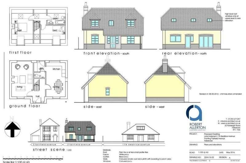 Land Commercial for sale in Fairfield Avenue, Felixstowe, Suffolk, IP11