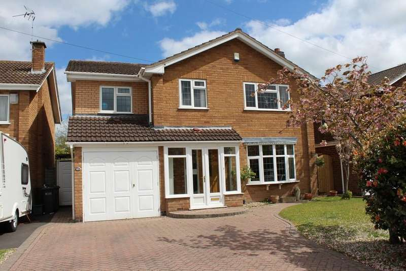 4 Bedrooms Detached House for sale in Whitacre Road, Knowle