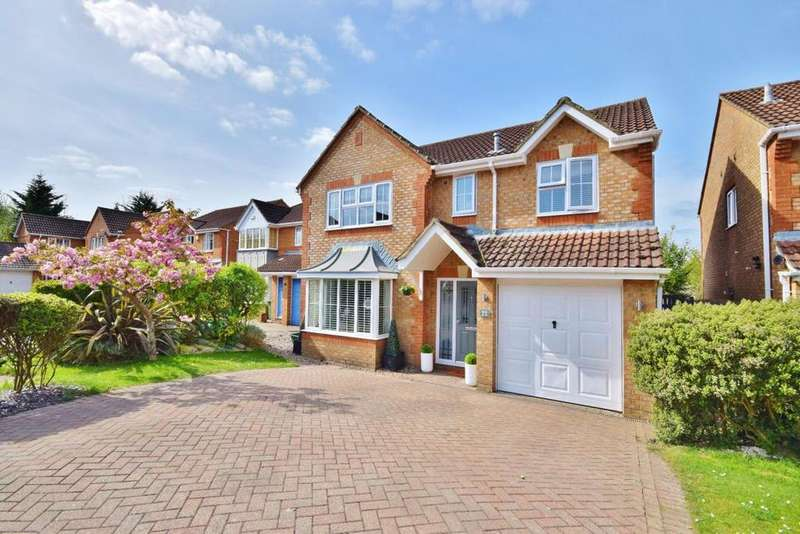 4 Bedrooms Detached House for sale in Hatch Warren, Basingstoke, RG22