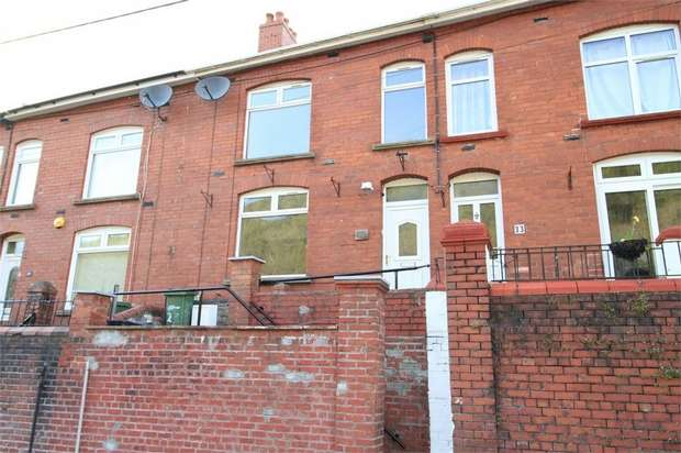 3 Bedrooms Terraced House for sale in Nantcarn Road, Cwmcarn, NEWPORT, Caerphilly
