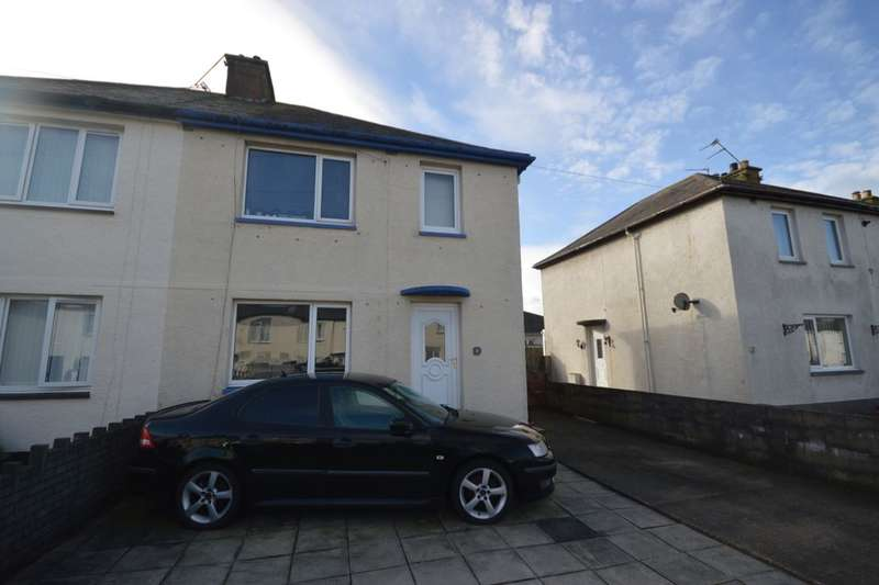 3 Bedrooms Semi Detached House for sale in St. Nicholas Avenue, Flimby, Maryport, CA15