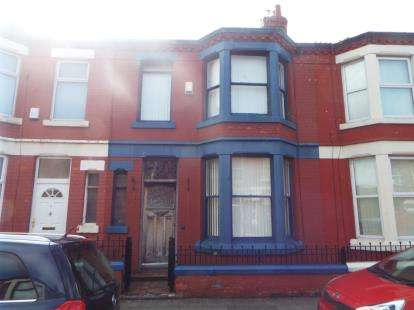 3 Bedrooms Terraced House for sale in Fareham Road, Liverpool, Merseyside, England, L7