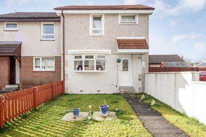 2 Bedrooms End Of Terrace House for sale in Malleable Gardens, Motherwell, North Lanarkshire