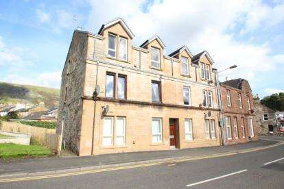 1 Bedroom Flat for sale in Service Street, Lennoxtown, Glasgow, East Dunbartonshire
