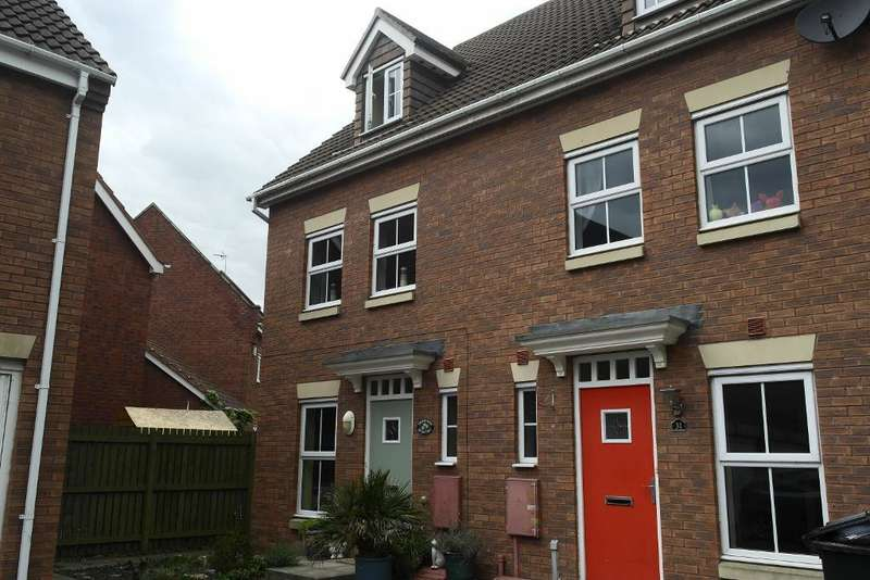 3 Bedrooms End Of Terrace House for sale in Selset Way, Kingswood, HULL, hu7 3de