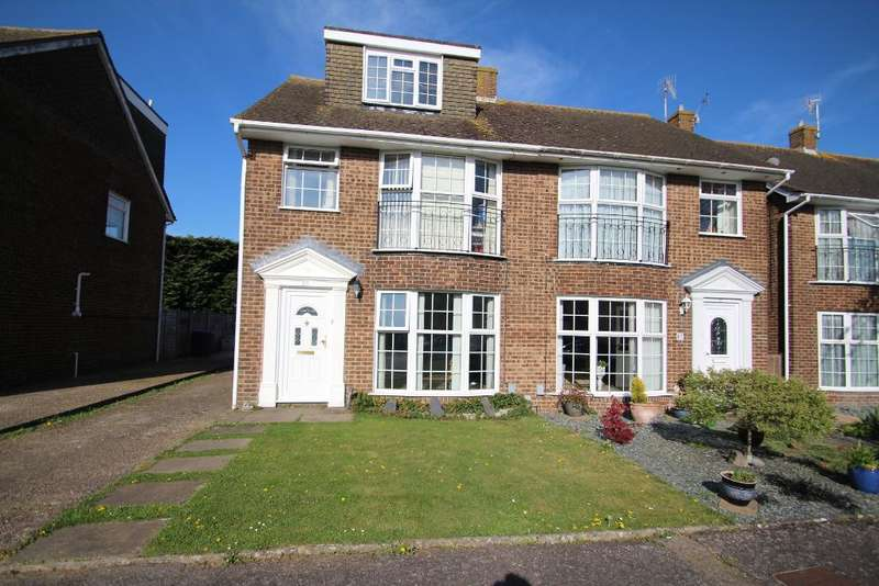 5 Bedrooms Semi Detached House for sale in Greenacres, Shoreham-by-Sea, West Sussex, BN43 5XL