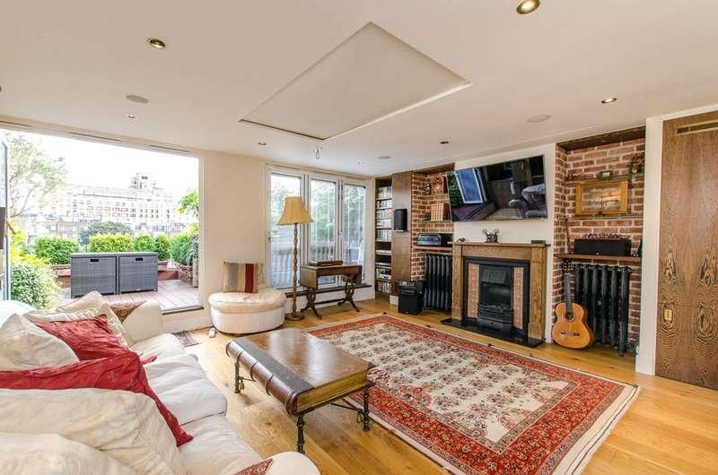 3 Bedrooms Maisonette Flat for sale in Marloes Road, Kensington, W8